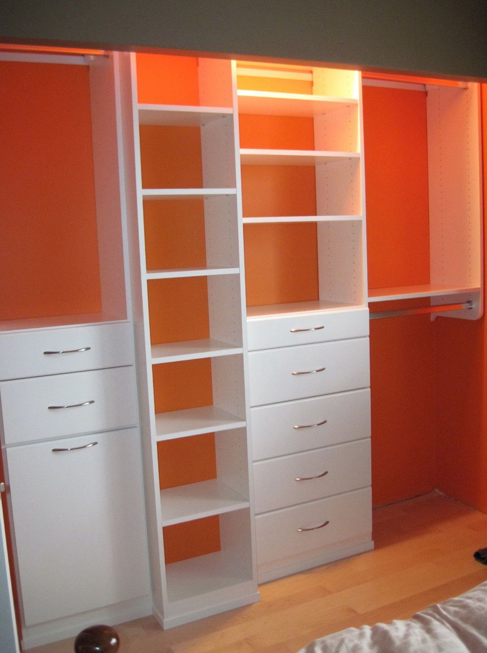 Deep Reach In Closet Ideas