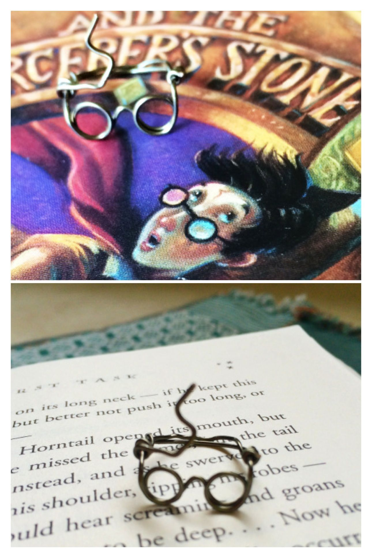 How to make a Harry Potter wire glasses ring  Things I like