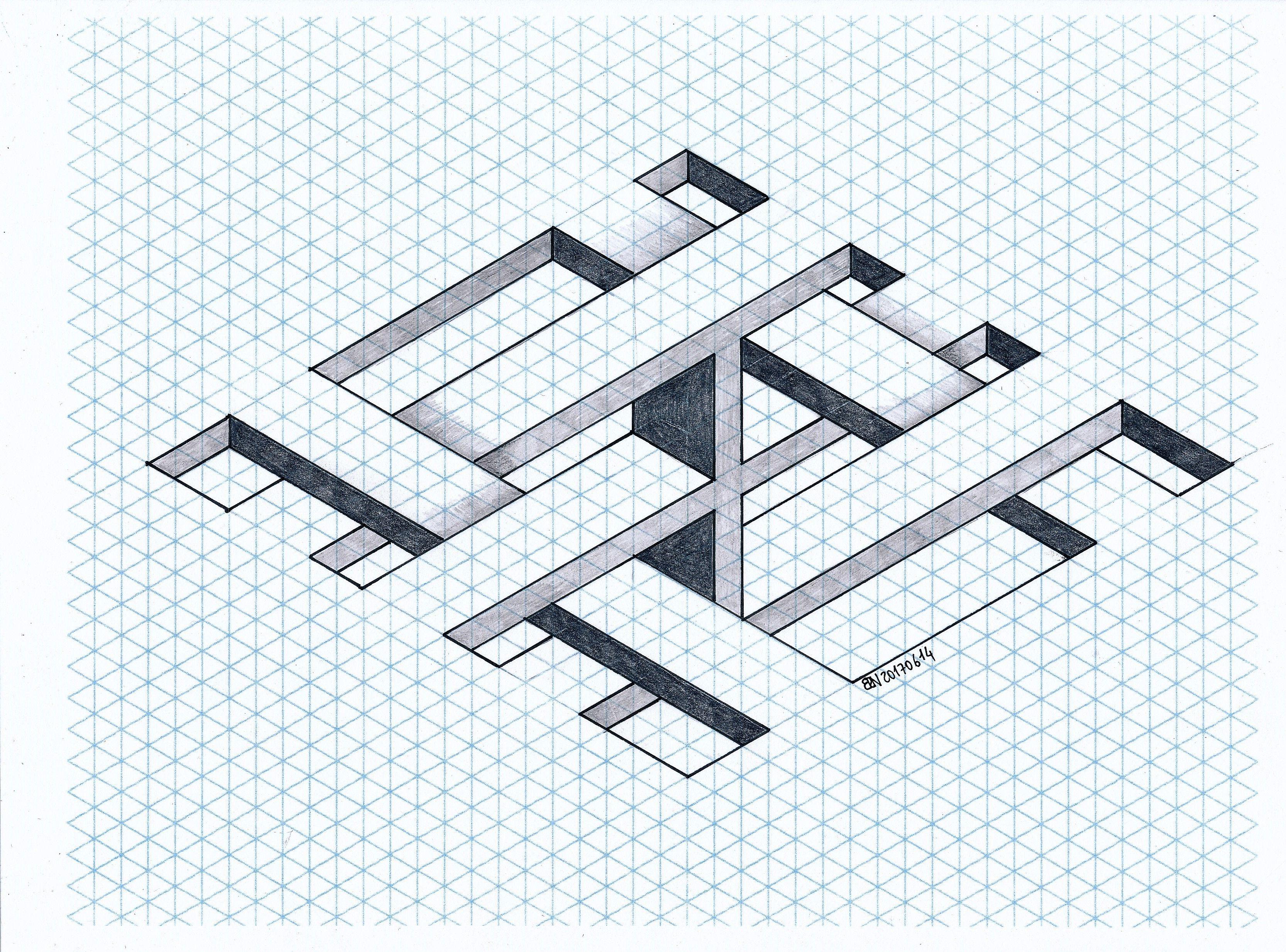 Impossible isometric penrose triangle mathart regolo54 impossible isometric penrose triangle mathart regolo54 geometry symmetry pooptronica