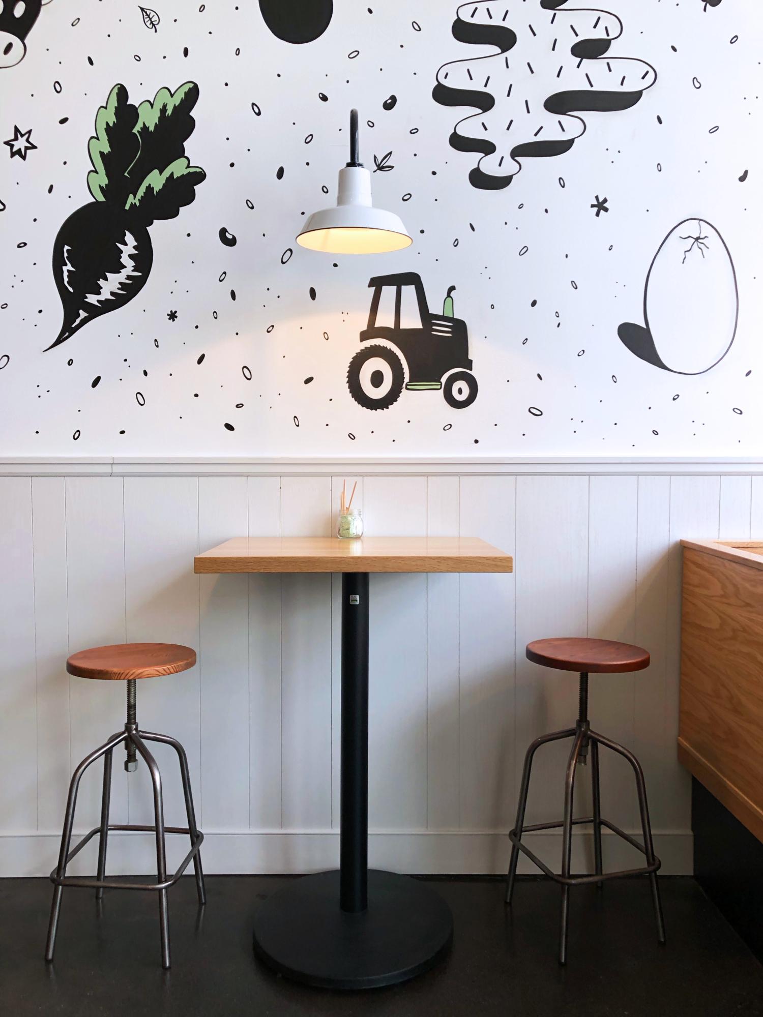 Butterbean Cafe Case Study Branding Web Design Interior