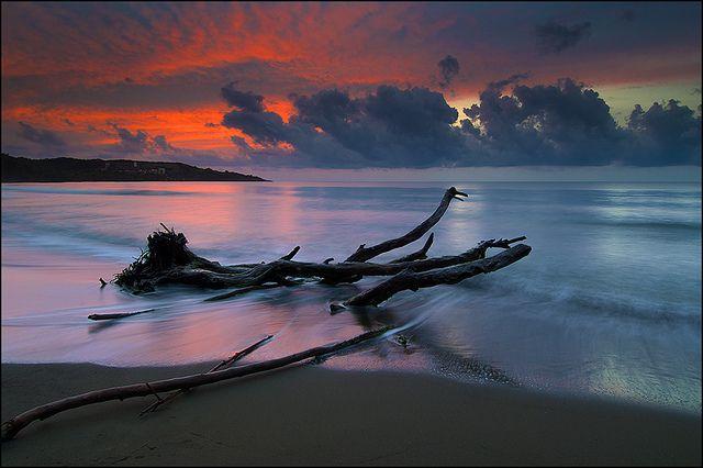 Santiago De Cuba Beach Sunset Ocean