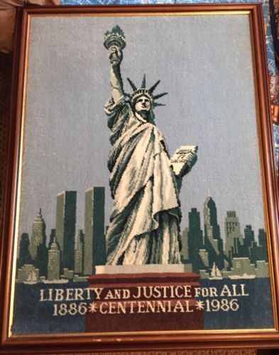 Liberty-And-Justice-For-All-1886-1986-Centennial-Art-Works-Statue-Of-Liberty