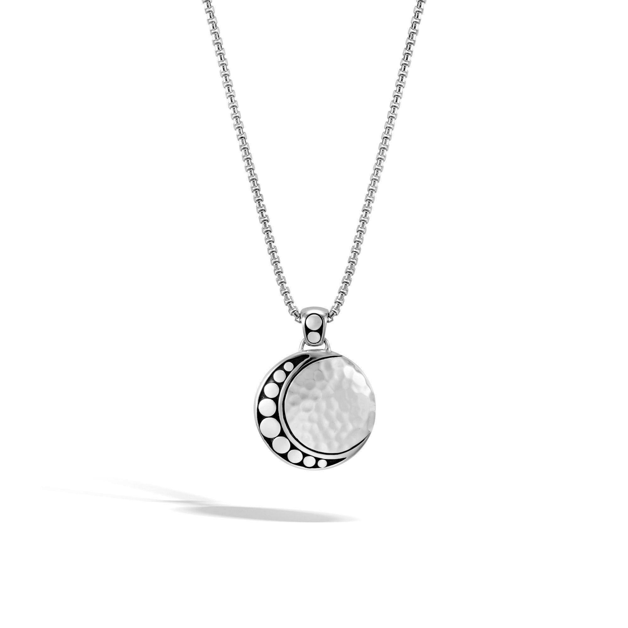 John Hardy Moon Phase Pendant Necklace With Diamonds u8oDIXIipv