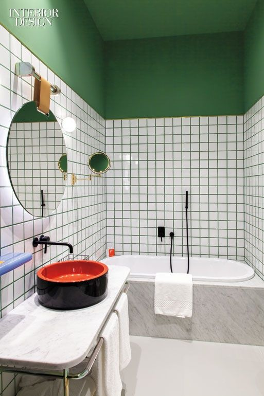 modern bentwood chairs probasics transport chair parts patricia urquiola captures the spirit of her home city at room mate giulia hotel   bathroom ...