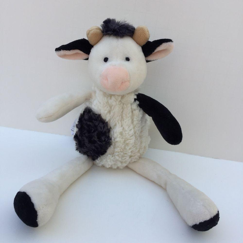 Mary Meyer Talls N Smalls Cow Plush Soft Toy 9 Long Leg Stuffed