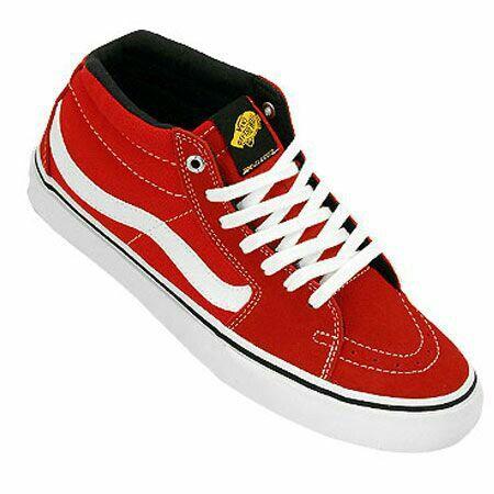 89cbe3b811 Vans SK8-MID PRO (Black label) Red