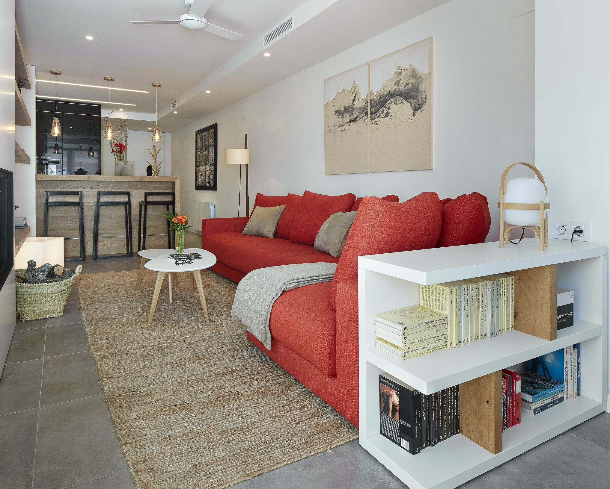 Molins interiors arquitectura interior interiorismo - Decoracion alfombras salon ...