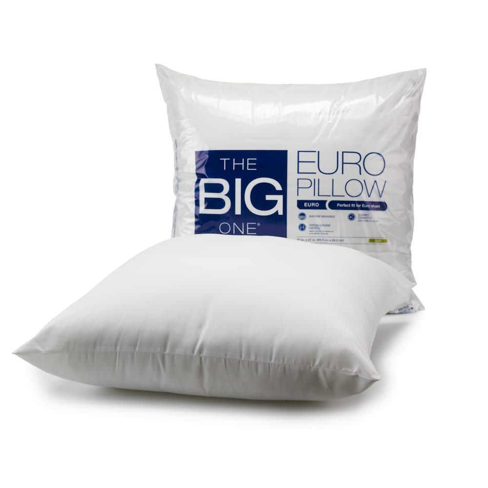 The Big One® Hypoallergenic Euro Pillow