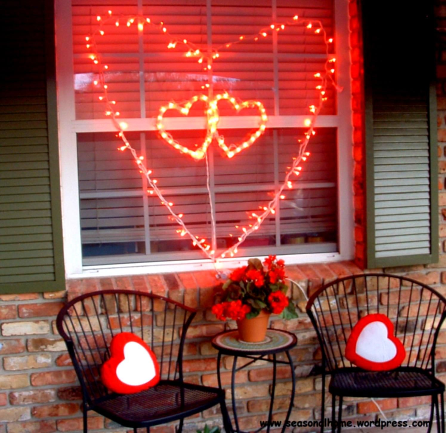 ideas for outdoor valentines day decor - Valentine Outdoor Decorations