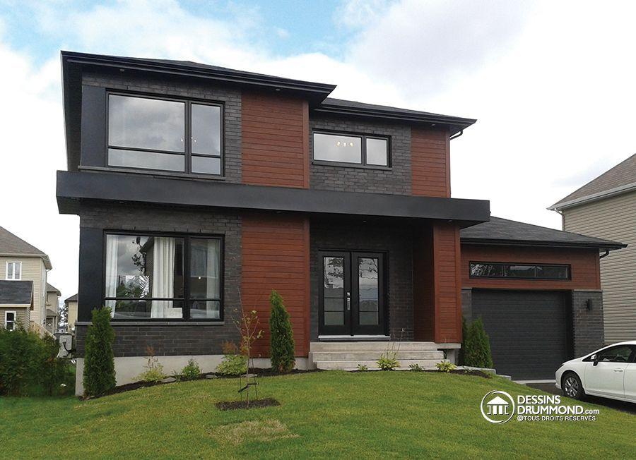 Détail du plan de Maison unifamiliale W3713-V1 House plans