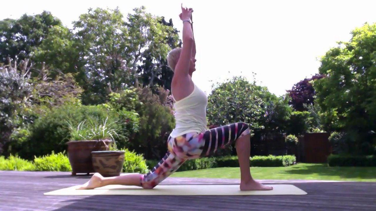 Over Fifties Sun Salutation Youtube Yoga Sun Salutation Sun Salutation Mini Workout