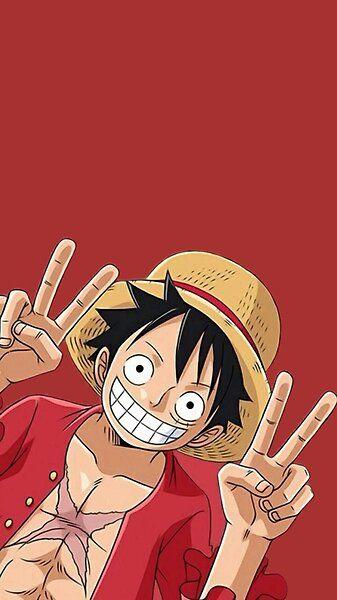 Luffy smiling by Mugiwaras-eShop | Redbubble