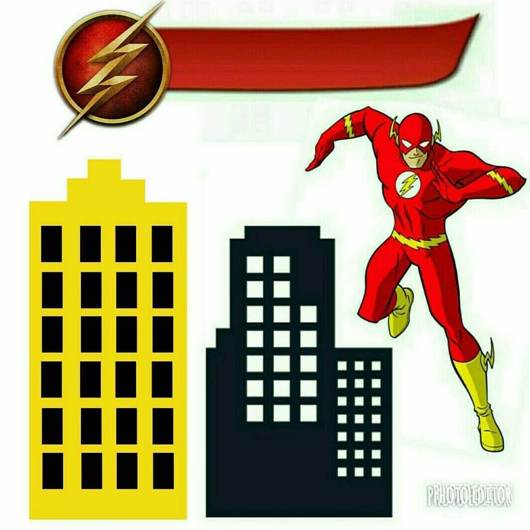 Topo De Bolo Do Flash Bolo Flash Festa Do Flash Festas De
