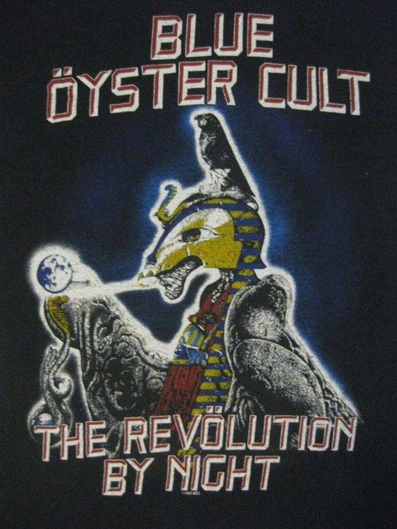Original BLUE OYSTER CULT vintage 1983 tour tshirt. Rock MusicMusic ...