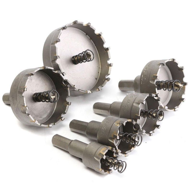 22mm65mm Carbide Tip Tct Drill Bit Set Hole Saw For Stainless Steel Metal Sale Hole Saw Drill Bit Sets Drill