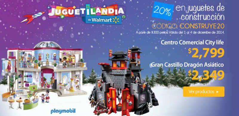 Walmart: descuento del 20% en juegos de construccion