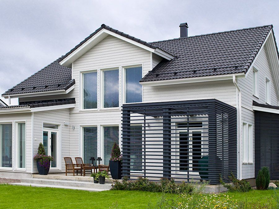Moderni Rauhala - Kannustalo