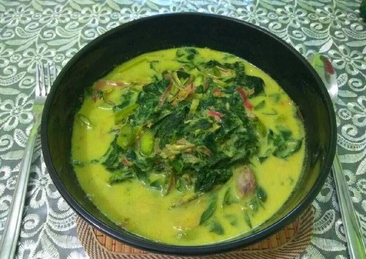 Resep Gulai Daun Singkong Kecombrang Oleh Wennie Wea Resep Gulai Makanan Dan Minuman Resep Masakan