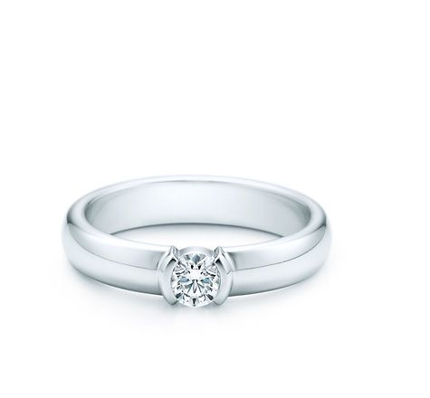 3247d2112 Tiffany Etoile engagement ring. I love the low profile, the sleek design,  and the classic brilliant cut.