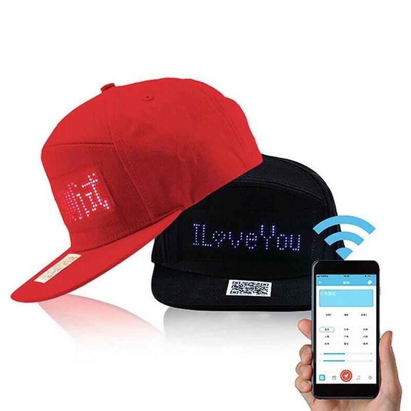 Led Message Cap In 2021 Led Led Hat Hats