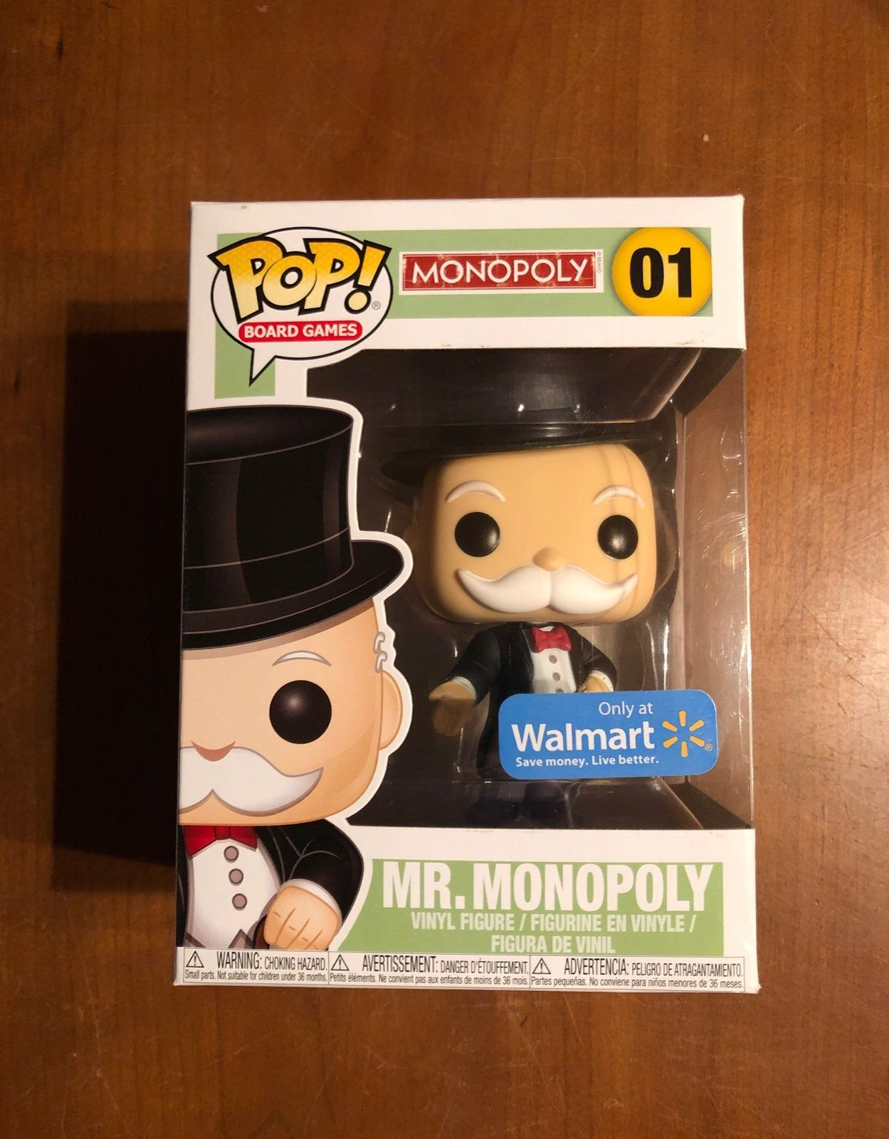 Walmart Exclusive Mr Monopoly Funko Pop Will Ship With Care