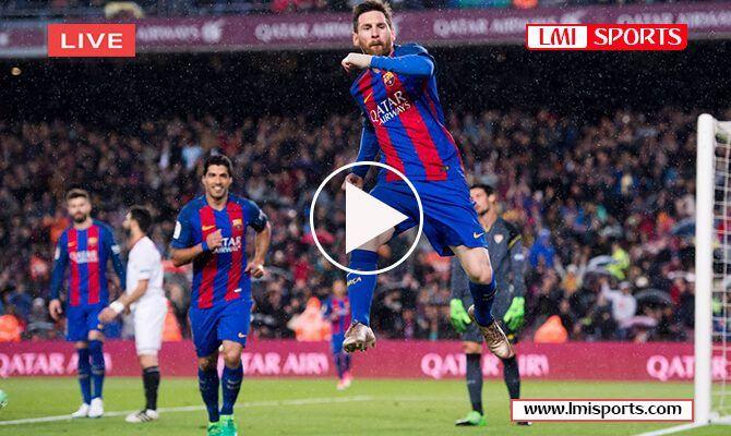 Barcelona vs Sevilla Copa del Rey-Quarter Final Reddit ...