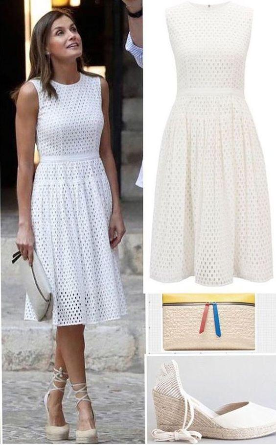 20 modelos de vestidos branco com renda para te inspirar – Primavera Verão