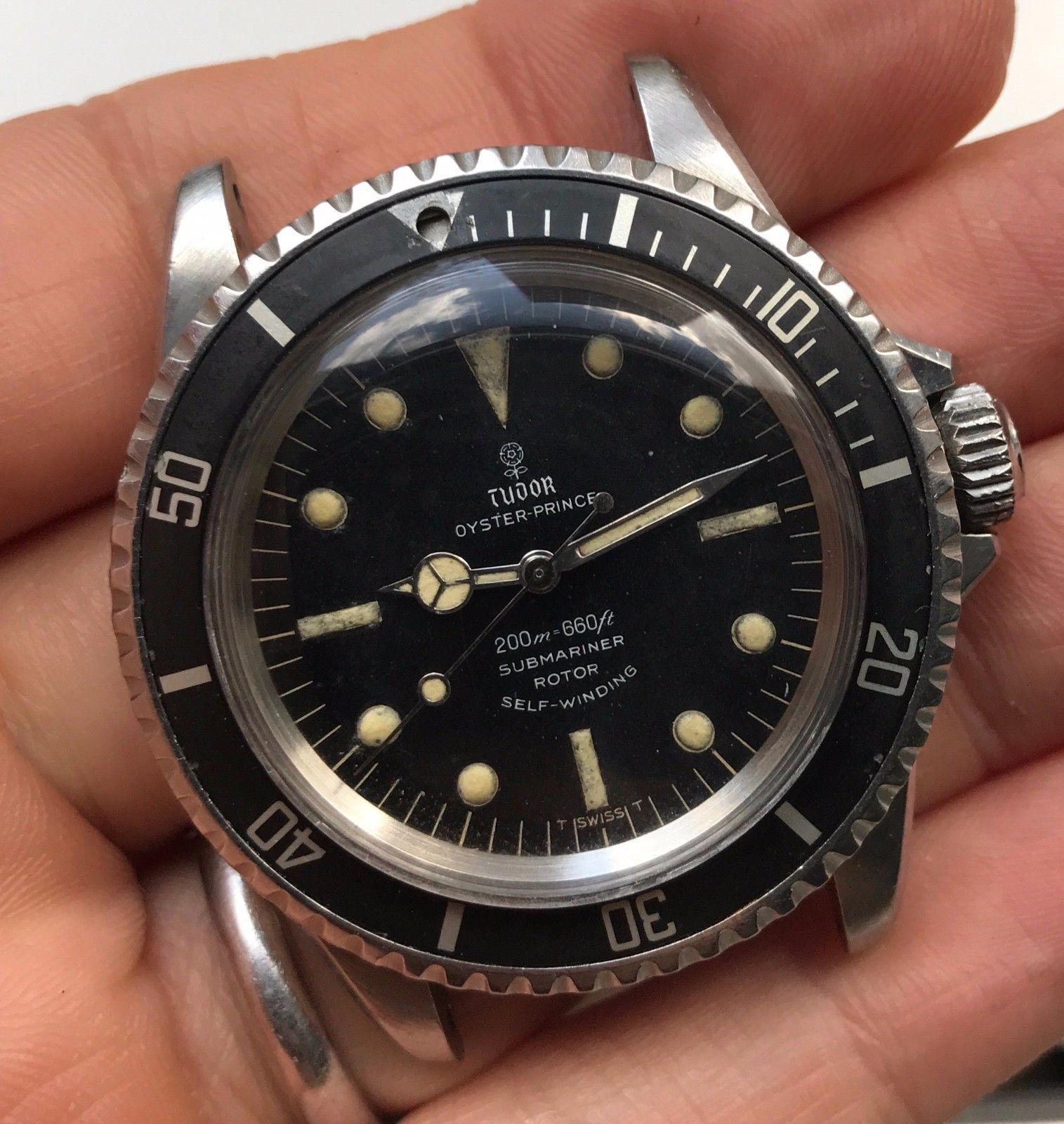 1966 Vintage Tudor Rolex Submariner Ref 7928 Unpolished Rolex Submariner Vintage Rolex Rolex Tudor