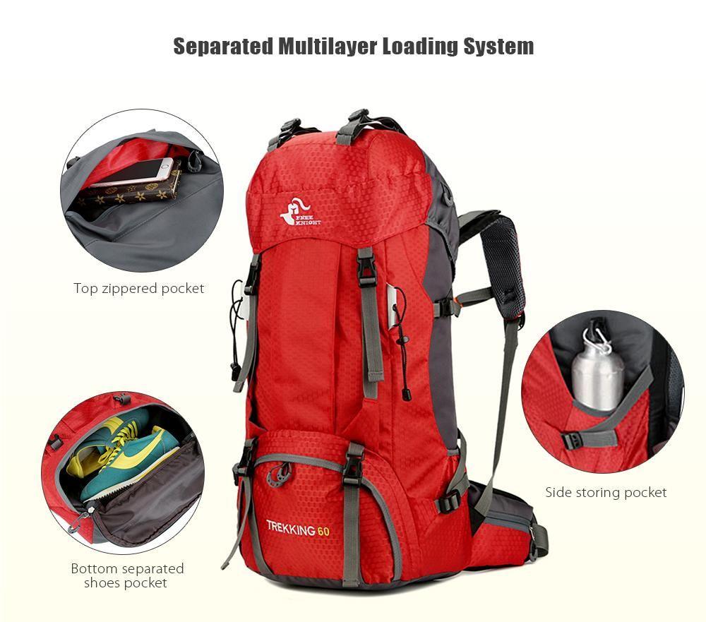 de0031ff3055 Large Capacity Camping Backpack- Fenix Toulouse Handball