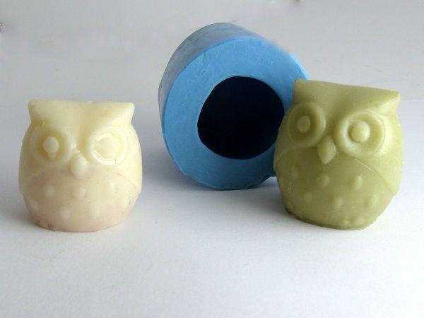Molde de Silicone Coruja- Arte de Modelar - Arte de Modelar