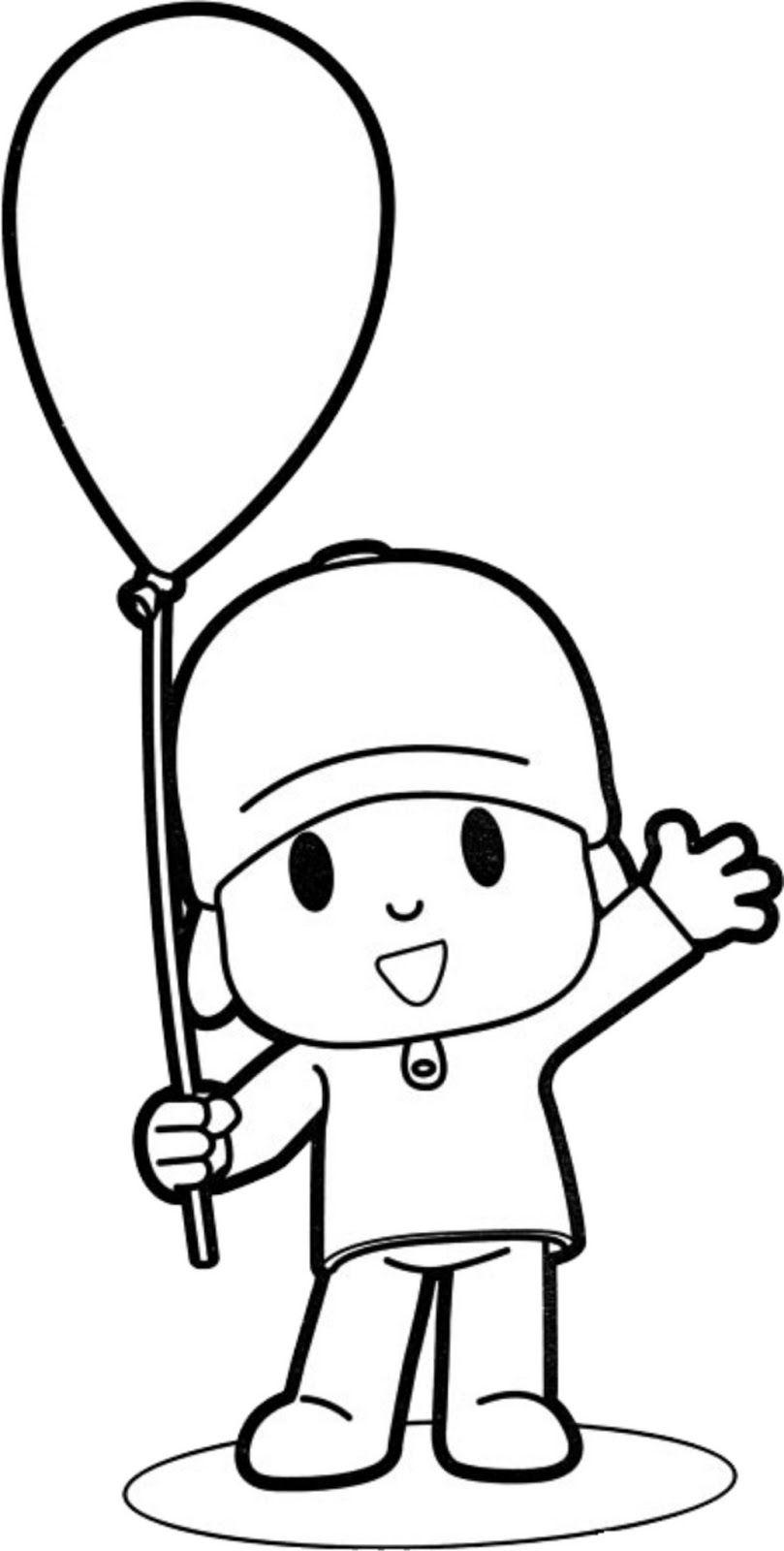 Espaço Educar desenhos para colorir : 30 Desenhos do pocoyo para ...