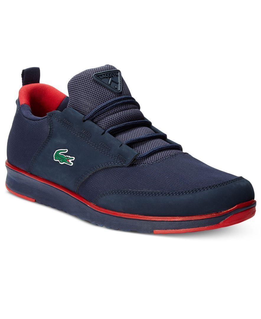 Sneakers men fashion, Lacoste shoes
