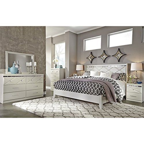 Ashley Furniture Bedroom, Brillaney Queen Panel Bed With Lights