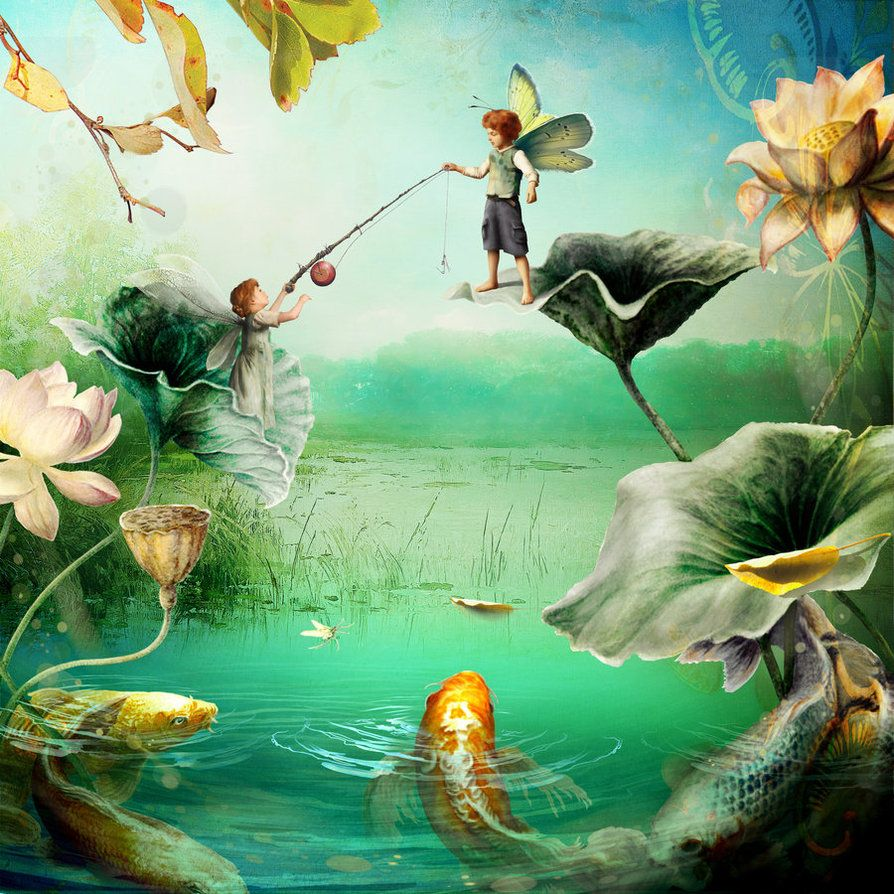 Fish n Flies by indigodeep on deviantART