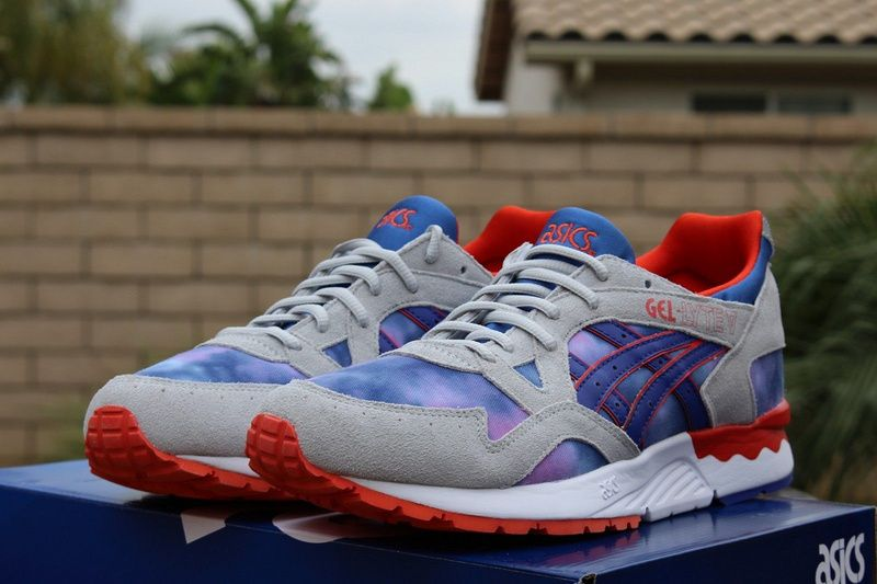 #sneakers #shoes 2015 H503-1052 Asics Gel Lyte V Galaxy White Navy Red