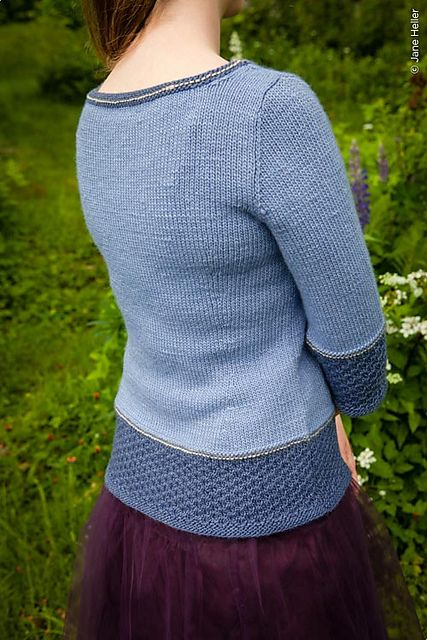 Available to buy on Ravelry: Topside pattern by Amy Herzog.  DK weight