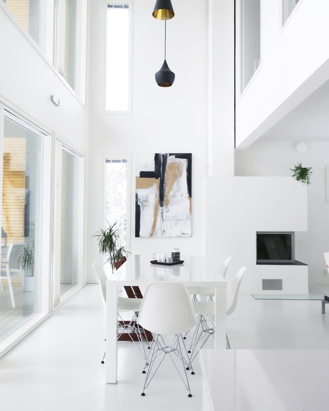 Pin von vrendah villase or auf homesweethome pinterest for Innenarchitektur esszimmer