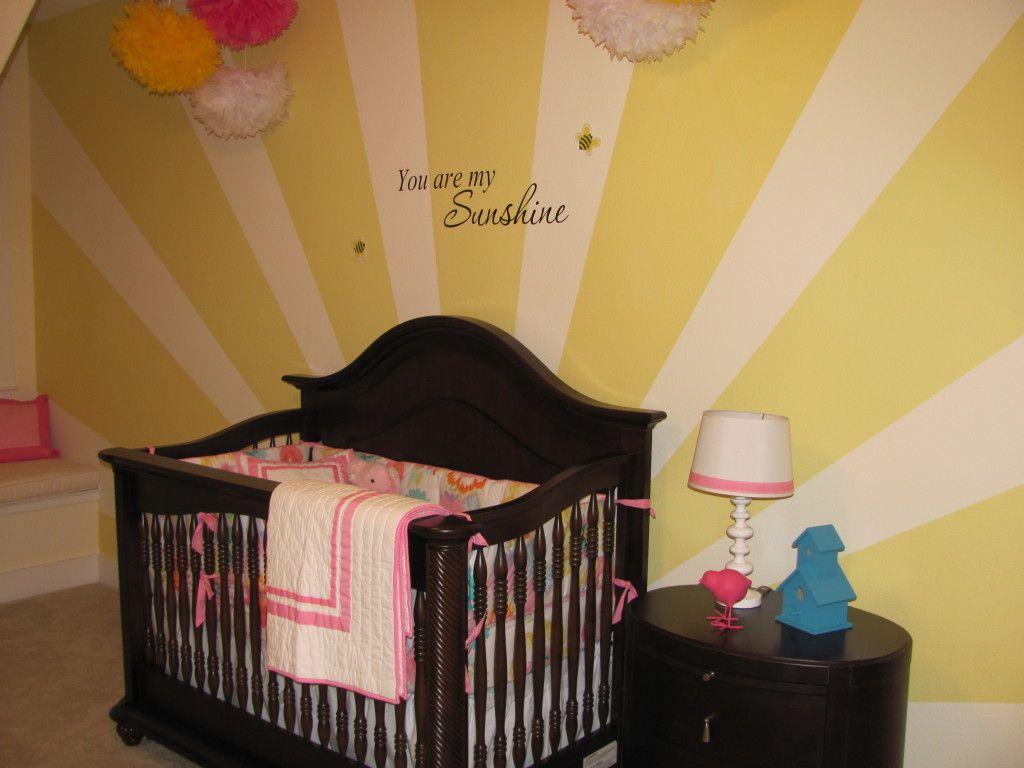 Ginger\'s Sunny Nursery   Project nursery, Nursery and Babies