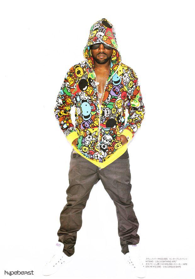 Kanye West For A Bathing Ape Spring 2010 Lookbook 2000s Fashion Trends 2000 Fashion Trends Fashion