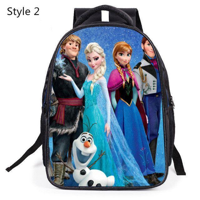 Cartable Enfant Children School Bags For Girls Printing Schoolbag Kindergarten Primary School Students Kids Backpacks