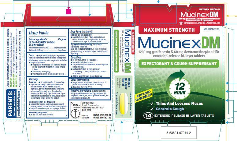 Mucinex Dm Mucinex Dm Maximum Strength Official Fda Information
