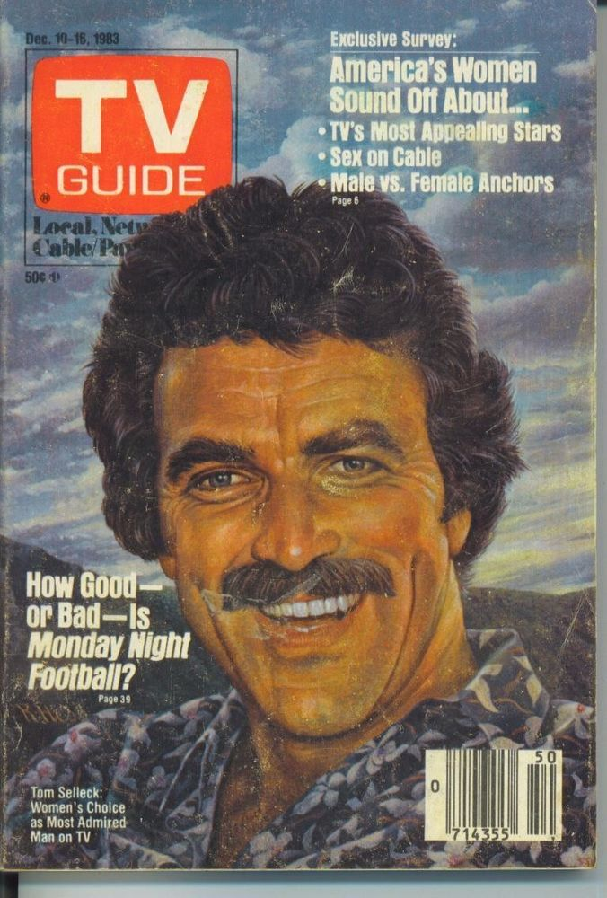 ILL/WISCON TV GUIDE 12-10-1983 TOM SELLECK~MADELINE KAHN