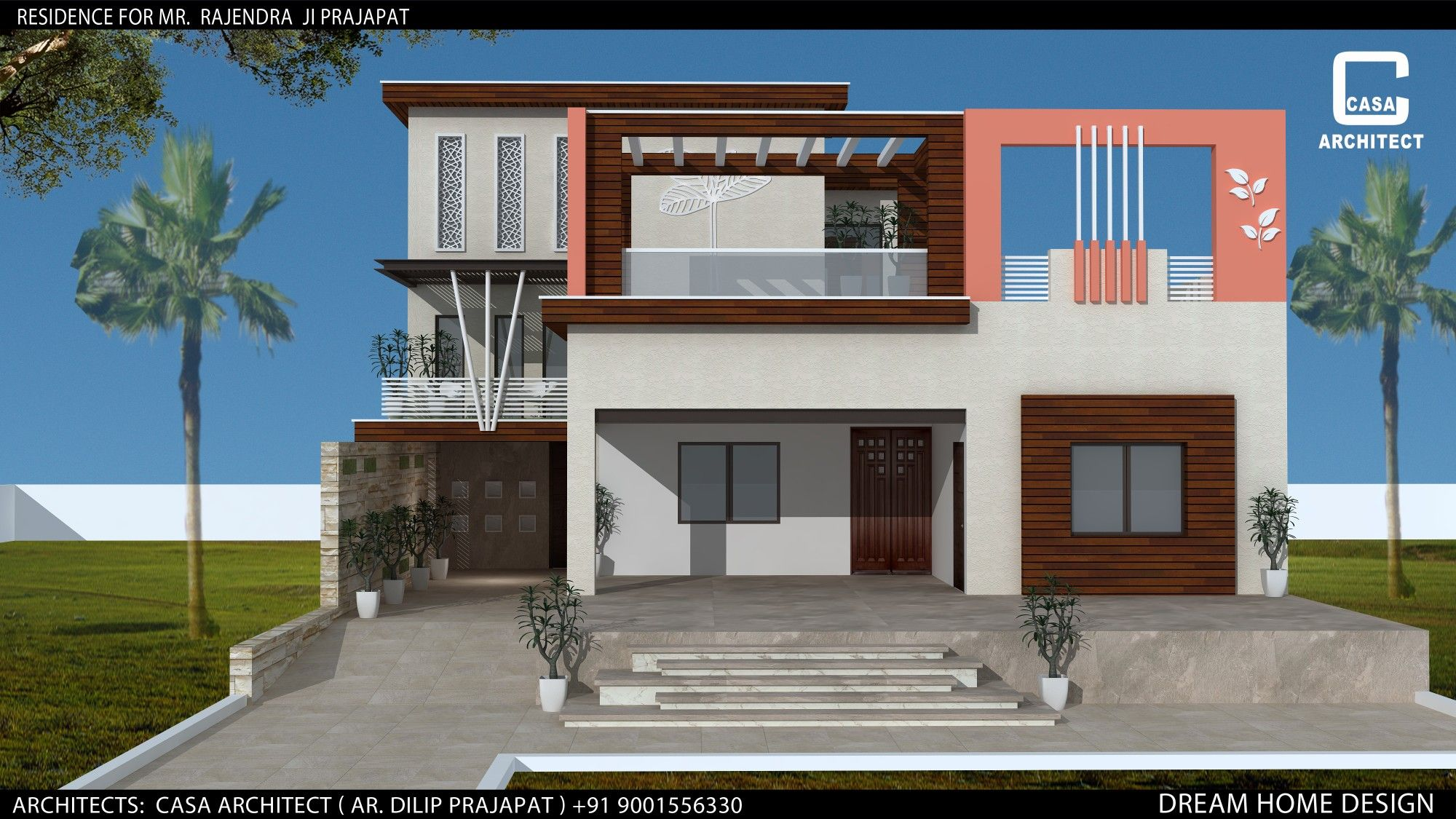 Modern single floor house building elevation beautiful home designs homes houses also casa architect in design rh pinterest