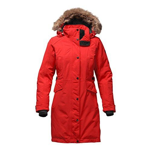 The North Face Tremaya Parka Womens High Risk Red Small  f4dfd6f0eba6