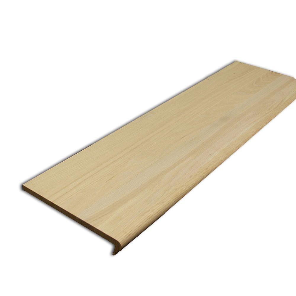 Best Stairtek 625 In X 11 5 In X 42 In Unfinished Red Oak 400 x 300