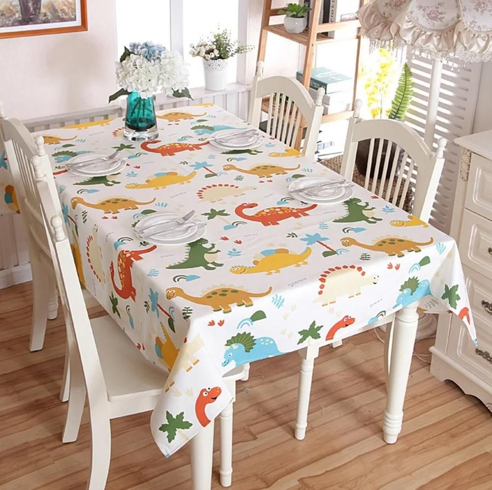 Merveilleux Very Cool U0026 Premium Dinosaur Cotton Table Cloth