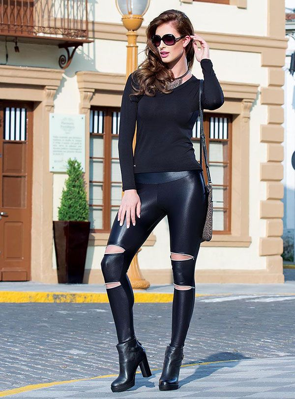 Calça Legging Montaria Casual Moda Feminina Rosa Goiaba  5ddfe39fdaff3