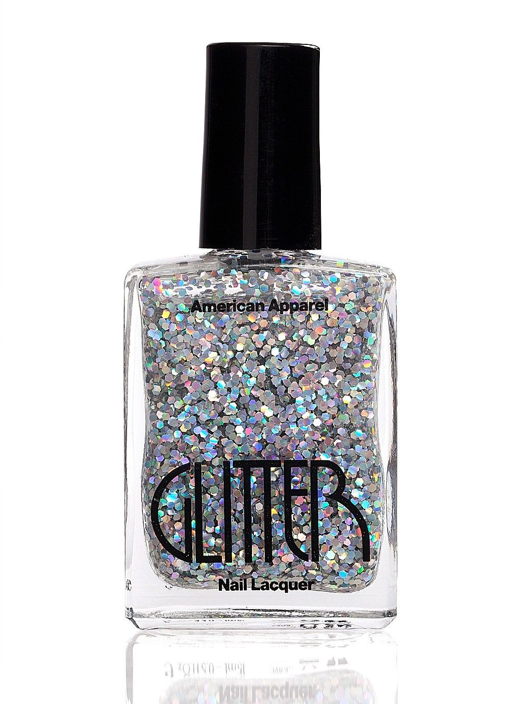 Glitter Nail Polish | Accessories' AA Nails | American Apparel