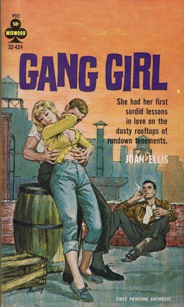 Erotic book the gangs new girl