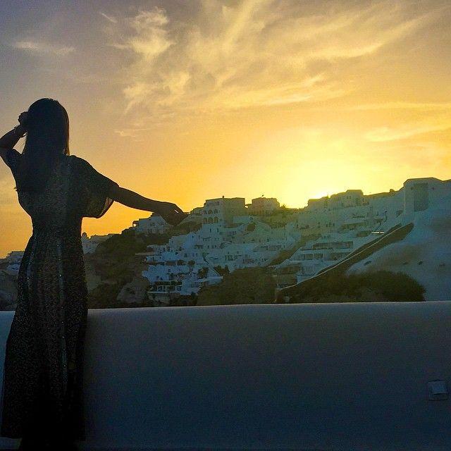 Sunset moment!  Appreciating the beauty of nature! ------- Pôr do Sol! Apreciando a beleza da natureza! Amo tanto! #abelezanasceunagrecia #chegoukorres @korresbr @fhits